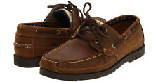 TIMBERLAND Kia Wah Bay HS Boat men's leather Boat shoes (Size 51-52) brown