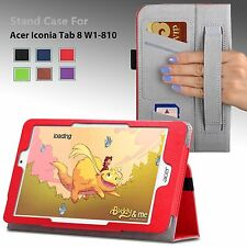 """For Acer Iconia Tab 8 W (W1-810) 8.0"""" 8-Inch Tablet Luxury Case Cover Stand NEW"""