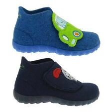 SUPERFIT HAPPY great Slippers Boys' Shoes Kids slippers Wool felt Touch fastener