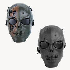 Army SWAT Airsoft Evil Zombie Full Face Skeleton Mask Hunting MOLLE Holloween