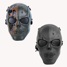 terror Army Protective Mesh Full Face Skeleton Mask Airsoft Game
