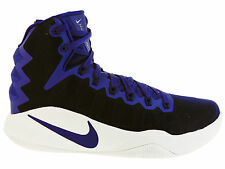 NEW MENS NIKE HYPERDUNK 2016 BASKETBALL SHOES TRAINERS COURT PURPLE / WHITE