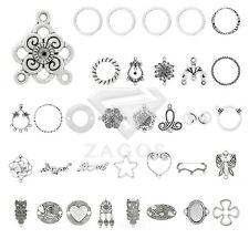 39 Style 5-150pcs Lots Tibetan Silver Metal Links Connectors Jewelry Findings