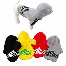 Warm Winter Casual Adidog Clothes For Small Pet Dog  Hoodie Coat Jacket Clothing