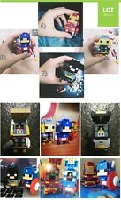 LOZ Mini Brick Headz Marvel Avengers Super-Héros - Au Choix - NANOBLOCKS