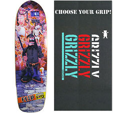 Flip Skateboard Deck EXTREMELY SORRY CRUISER 9 X 32 EXECUTION with GRIZZLY GRIP