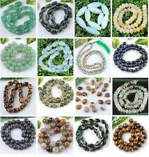 New Wholesale Various Gem Gemstone Beads Strand DIY Jewelry Finding Craft Charm