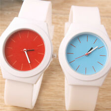 Geneva Women Soft Jelly WristWatch Sport Kid Watches Silicone strap Quartz watch