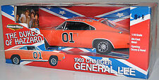 ERTL 1/18 Dukes of Hazzard 1969 Charger GENERAL LEE Diecast Car American Muscle