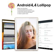 "10"" HD Dual SIM Camera 3G Octa Core Tablet PC Android 4.4 2Gb+16GB WIFIBluetooth"