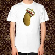 POTATO ROYALE Shirt, Unisex Style American Apparel, King Queen Ugly Spud Meme