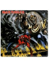 Iron Maiden Number Of The Beast Fridge Magnet