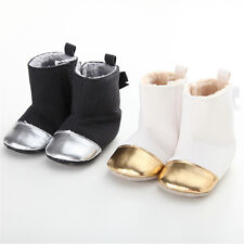 Baby Girl Boy Soft Sole Booties Snow Boots Infant Toddler Newborn Crib Shoes