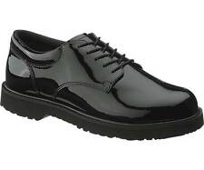 Brand New Bates 22741-B Womens Slip Resistant High Gloss Duty Oxford Black Shoes