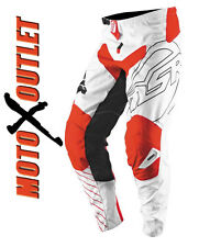 MSR Dirt Bike Axxis Red White Racing Gear Pants Jersey MX Off Road Atv Motocross