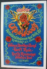 ALLMAN BROTHERS GOVT MULE NYC 2010 CONCERT POSTER