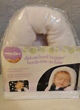 New in Pack Deluxe Infant Baby Head Hugger Support Cushion Car Seat Soft Plush