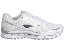 NEW WOMENS BROOKS ADRENALINE GTS 17 RUNNING SHOES TRAINERS WHITE / SILVER