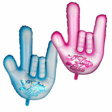 """I LOVE YOU"" Hand Gesture Shape Foil Balloon Birthday Wedding Valentine Party"