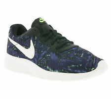 NEW NIKE WMNS Tanjun Print Shoes Women's Sneakers Blue Womens' WOW