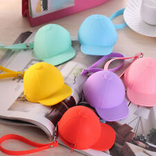 Women Cute Purse Hat Silicone Waterproof Wallet Pouch Coin Bag lovely gift HU