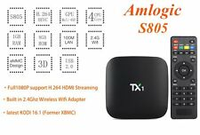 TX1 Smart Android4.4 Amlogic S805 Quad Core TV Box XBMC Free Sports Moives