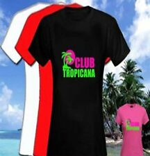 Club Tropicana 80s Womens Fitted T Shirt ( Uk sizes 8-18)