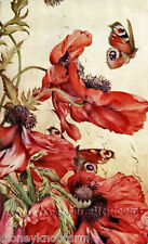 Butterflies ~ Edward Detmold, Gardens & Flowers ~ Cross Stitch Pattern