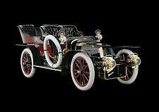 Retro Poster Wall Art of Classic Vintage De Dion-Bouton Model AD 1904 motor