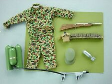 Vintage Gi Joe Marine Fatigues and Misc..