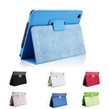 Fit For Apple iPad Mini 1 Leather Magnetic Flip Smart Stand Case Cover Pouch New