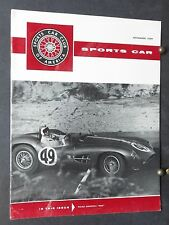1959 SCCA SPoRTS CaR- Road America 500,Continental Divide Raceways,Mansfield
