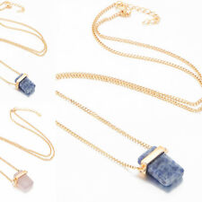 Hot Sale Necklace Gold Plated Fashion Pendant Chain Gift Cubic Zirconia GemStone