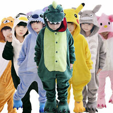 kids Pajamas Pikachu Kigurumi Unisex Cosplay Animal Costume Onesie sleepwear man