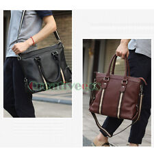 Korean Fashion Men Tote Handbag Cross Body Messenger Shoulder Business Briefcase