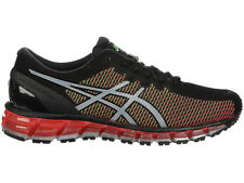 NEW MENS ASICS GEL-QUANTUM 360 CHAMELEON RUNNING SHOES TRAINERS BLACK / WHITE