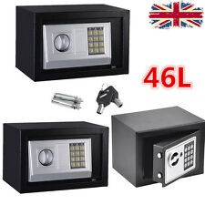 SECURE DIGITAL STEEL SAFE KEY ELECTRONIC SECURITY HOME/OFFICE SAFETY BOX AYA