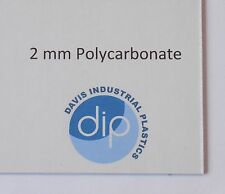 2 mm Clear POLYCARBONATE Sheet Free Post