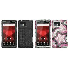 For Motorola Droid Bionic XT875 Diamond Diamante Bling Rhinestone Case Cover