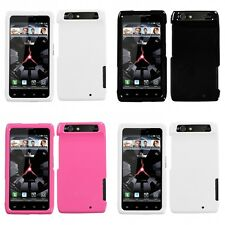 For Motorola Droid Razr XT912 Rigid Plastic Hard Snap-On Case Phone Cover