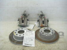 15 Volkswagen Jetta Rear Caliper Pair W/ Rear Rotors OEM