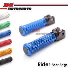 M-Grip CNC Front Foot Pegs For Triumph Speed Triple 955i 00-04