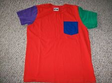 AMERICAN APPAREL Youth Fine Jersey Pocket Short Sleeve T-Shirt  Size 10 NEW