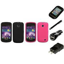 For Samsung Illusion i110 Silicone Skin Rubber Soft Case Phone Cover Charger