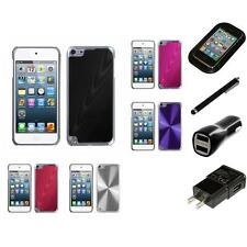 For Apple iPod Touch 5th 6th Gen Aluminum Armor Cosmo Slim Hard Case Charger