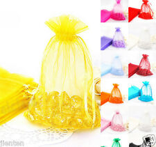 Organza Gift Bags Jewelry Pouches Xmas Wedding Party Candy Mini Gift Pouch Bag