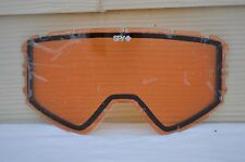 2016 NIB SPY RAIDER SNOWBOARD GOGGLE REPLACEMENT LENS $30 persimmon series
