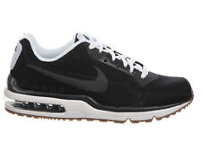 NEW MENS NIKE AIR MAX LTD 3 TRAINERS CASUAL SHOES BLACK / BLACK / WHITE / ANTHRA
