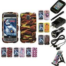 For LG Optimus S LS670 Design Snap-On Hard Case Phone Cover Accessories
