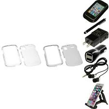 For Samsung Focus i917 Crystal Hard Snap-On Transparent Case Cover Accessories